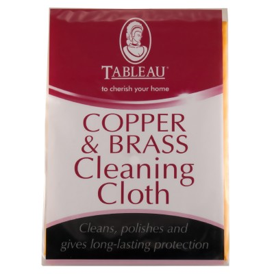 Рукавичка для чистки меди и латуни Tableau Copper & Brass Cleaning Cloth