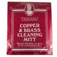 Тканевая рукавичка для чистки меди и латуни Tableau Copper & Brass Cleaning Cloth