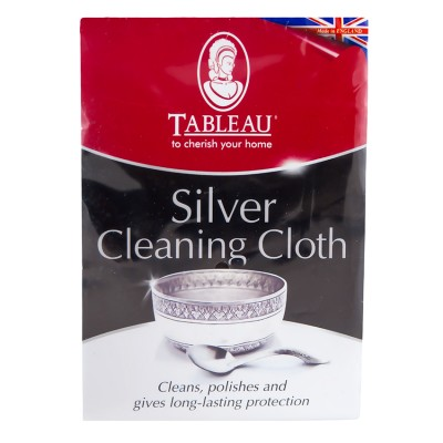 Салфетка для чистки серебра Tableau Silver Cleaning Cloth - BleskDom приобрести